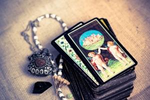 34748968 - tarot cards